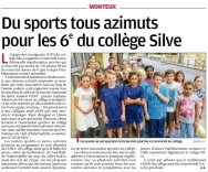 Article La Provence clg Silve_18sept16