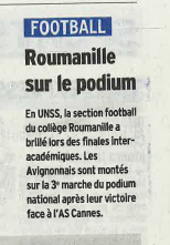 article vaucluse matin 28_04_16 football