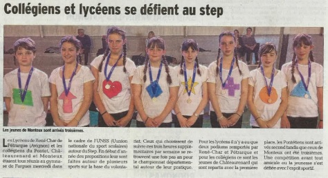 article vaucluse matin 29_04_16 step