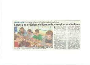 ChessAcadémiquesUNSS Martigues8mars2017VaucluseMatin12mars