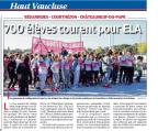 cross clg St Exupéry Bédarides La Provence Edition du 26 oct16