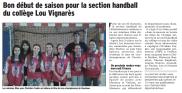 handball vaucluse matin
