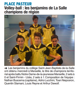 VOLLEY VAUCLUSE MATIN