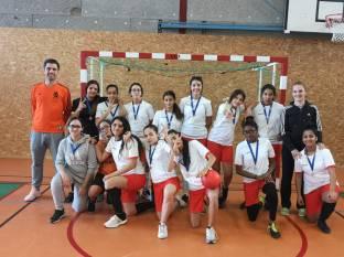 equipe Acad futsal MF college Mathieu avignon 20 mars 19